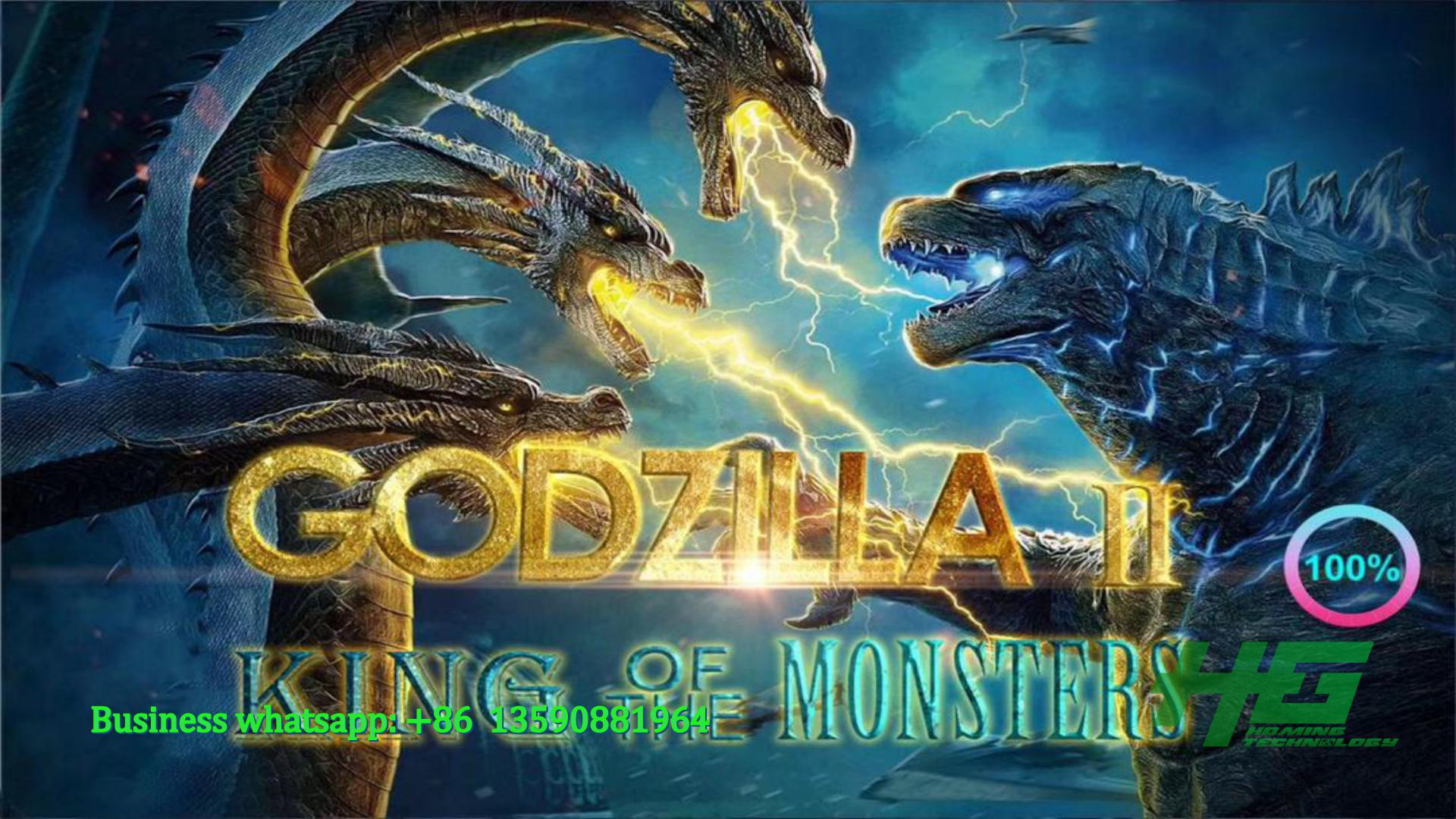 Hot Myanmar, Vietnam, Thailand, Cambodia Market,Godzilla Fishing Game,Godzilla King of Monsters Fish Game For Sale