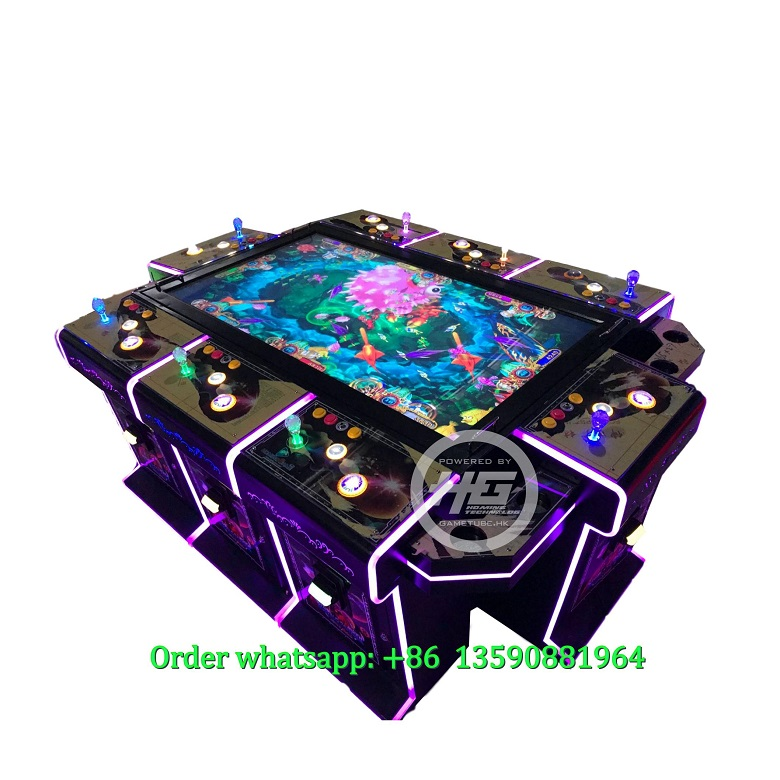 Newest High Quality 6/8 Players Fish Table,Fish Cabinet,Fishing Game Machine For Sale