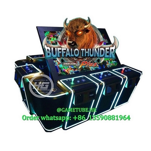 Newest Igs Original Ocean King 3 Plus Buffalo Thunder, Ocean King 3 Plus Fishing Table Game for Sale (GAMETUBE. HK)