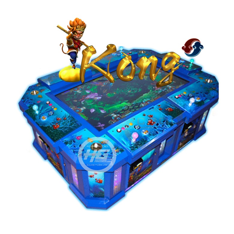 Newest Popular Us Market 3D Kong Fishing Game, High Profits WU Kong Fish Game for Sale (GAMETUBE. HK)