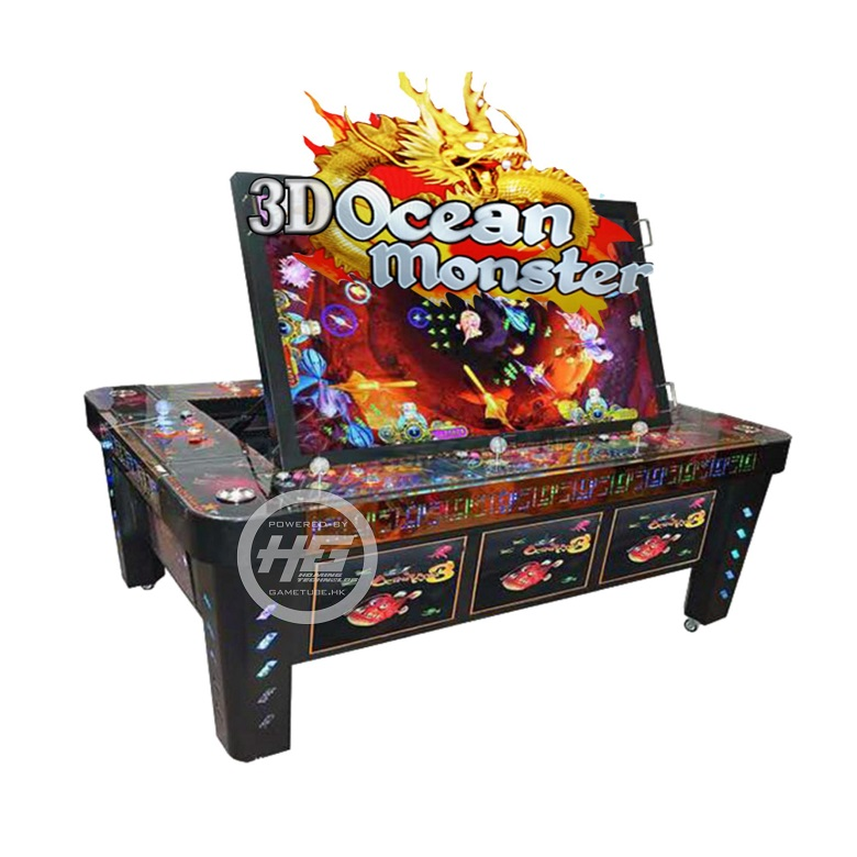 Newest Igs Original 3D Ocean Monster Fishing Table Game for Sale (GAMETUBE. HK)