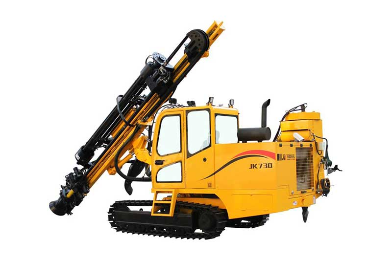JK730 Automatic Crawler Mounted DTH drilling machine