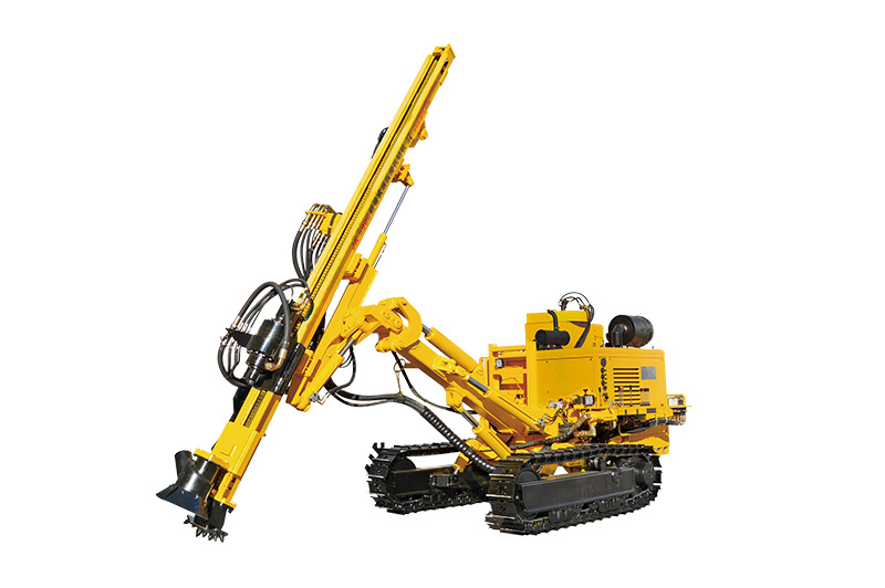 JK590 Crawler Mounted Hydraulic DTH Drilling Rig