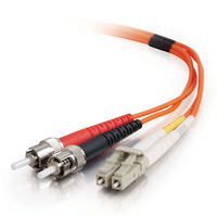 LC-LC 62.5/125 OM1 Duplex Multimode PVC Fiber Optic Cable