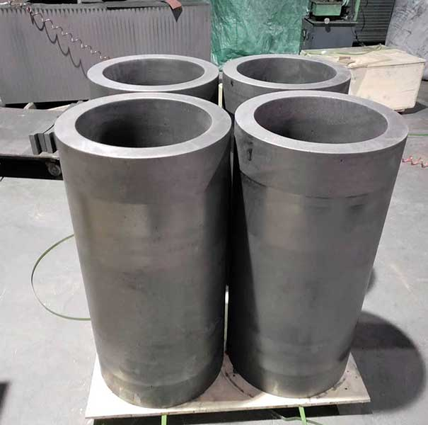 High mechanical strength Graphite crucible