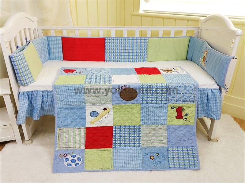 Cotton baby bedding set WFT1915