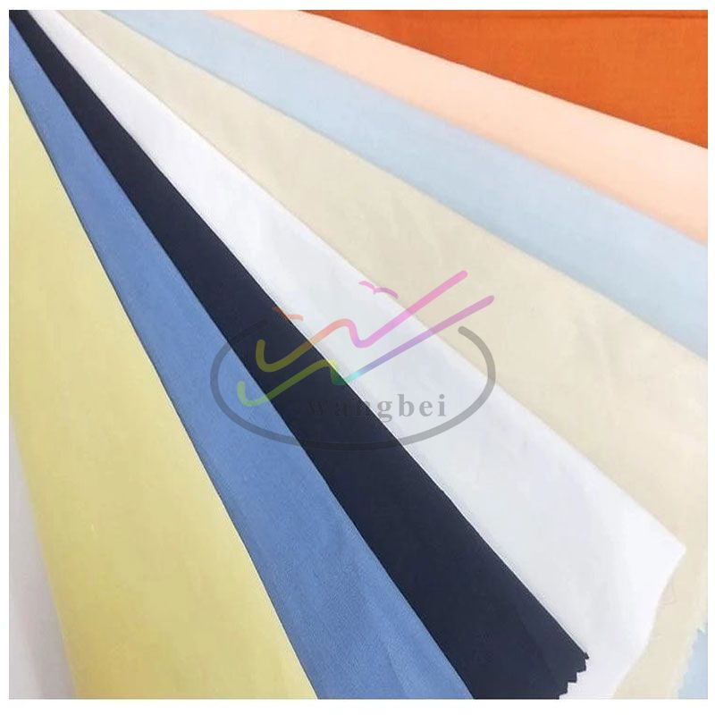 80%poly 20%cotton plain woven pocket fabric