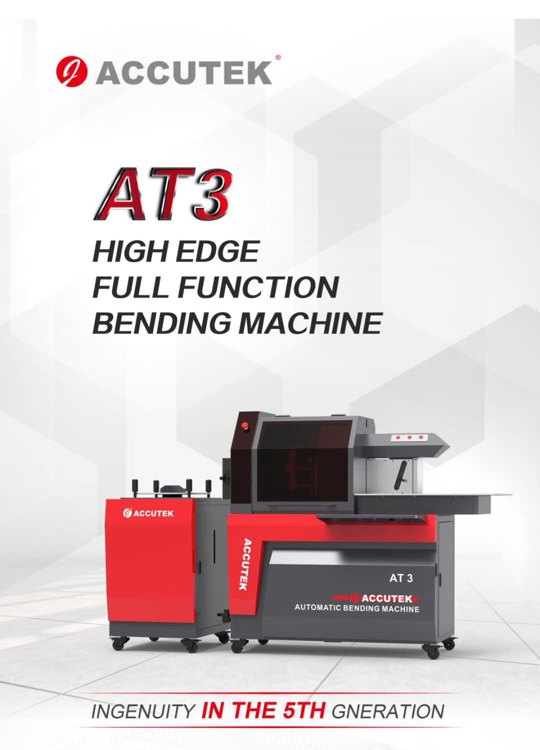 ACCUTEK AT3 HIGH EDGE FULL FUCTION BENDING MACHINE
