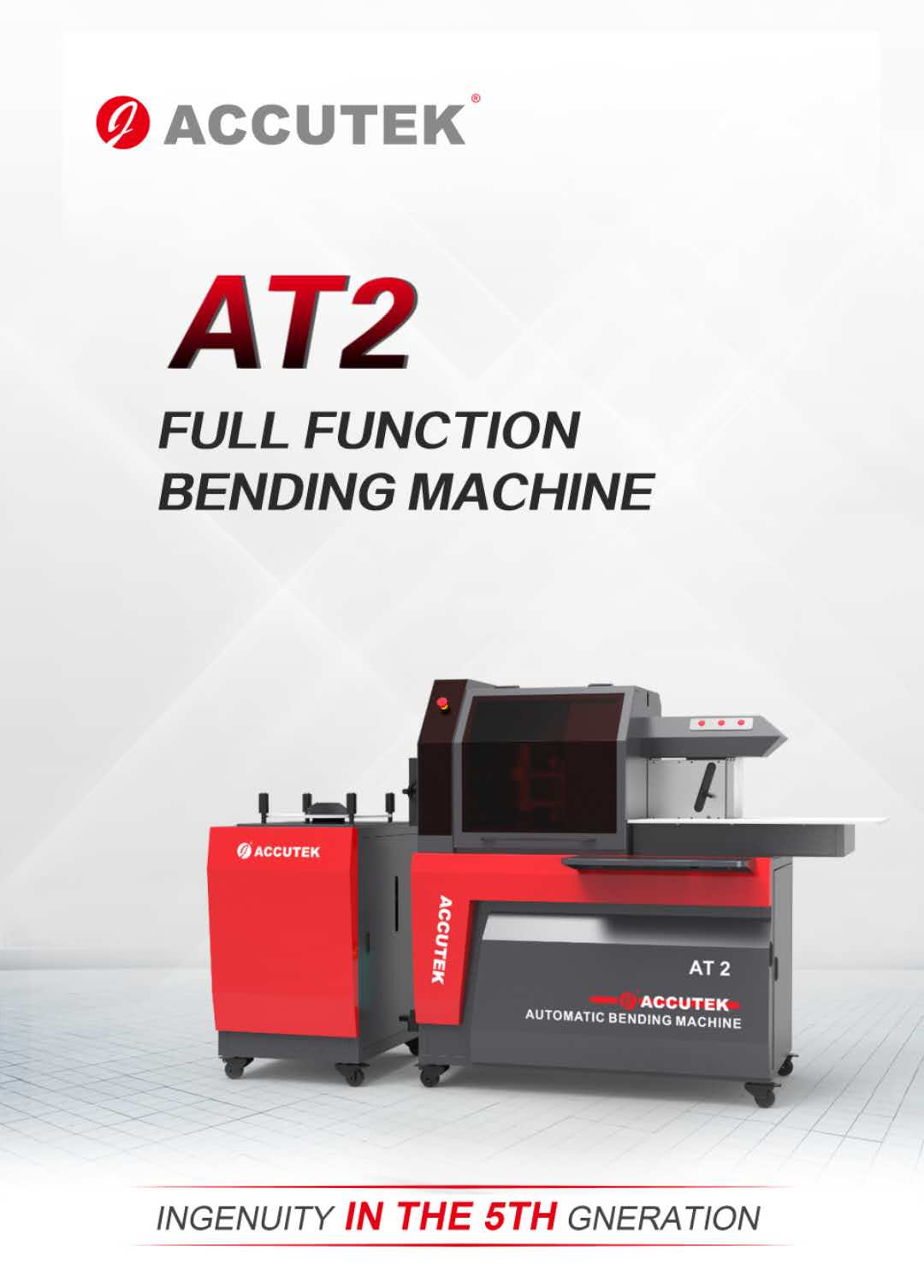 ACCUTEK AT2 FULL FUNCTION BENDING MACHINE