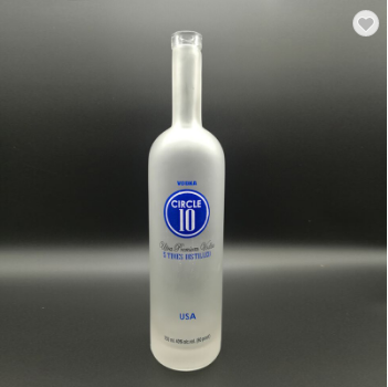 glass spirit bottle manufacturer