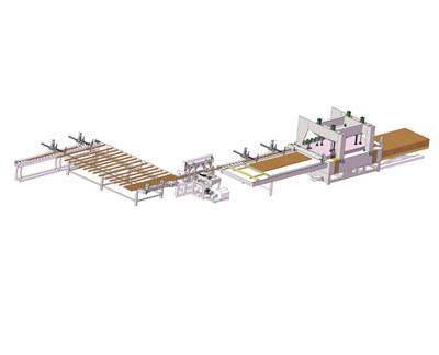 Automatic HF(RF) Wood Board Joining ( Integrated Board ) Production Line