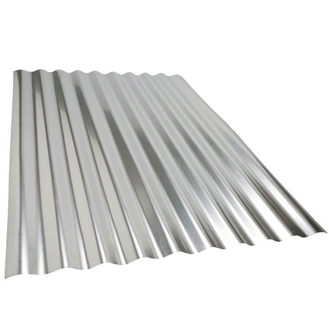 Corrugated and Embossed steel sheet