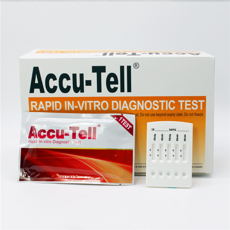 Accu-Tell® HBV Rapid Test Cassette (Serum/Plasma)
