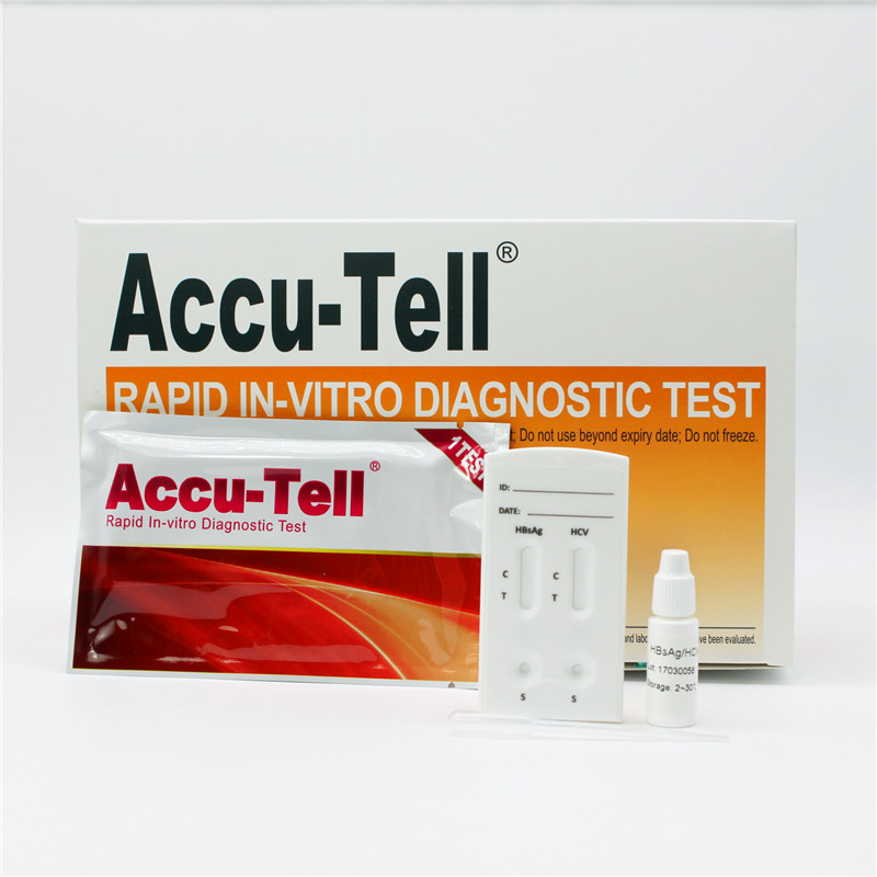 Accu-Tell® HBsAg/HCV Combo Rapid Test Cassette (Serum/Plasma)