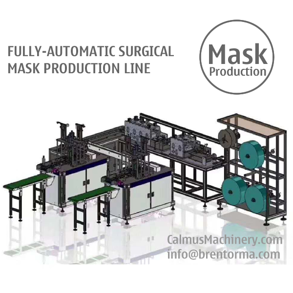 Fully-automatic Medical Surgical Mask Making Machine Production Line