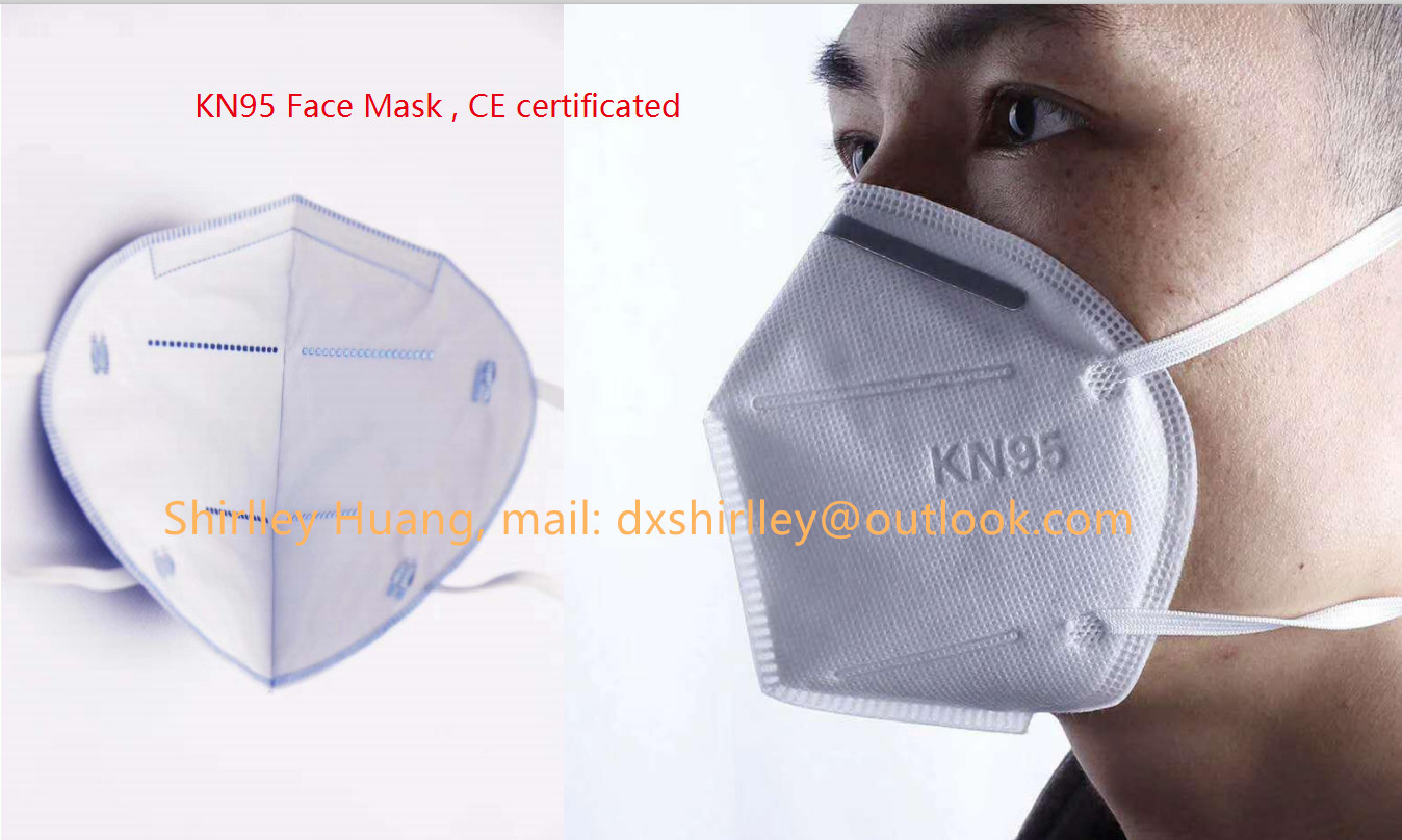 KN95 Masks with CE, FDA ,testing report