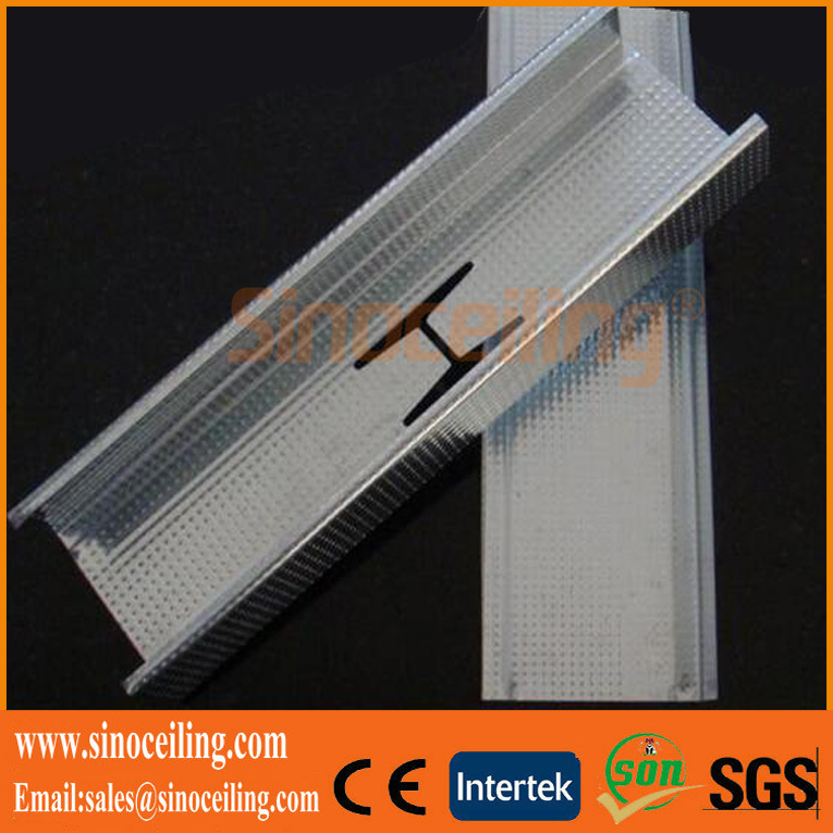 drywall metal stud, galvanized metal profile