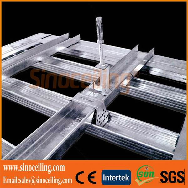 galvanized ceiling channel, drywall metal profile