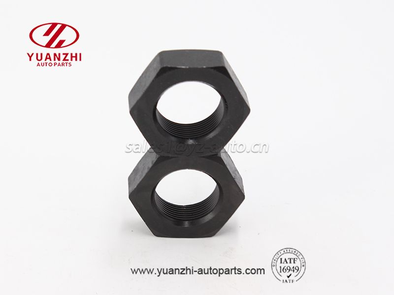 Custom Black Hexagon Lock Nuts