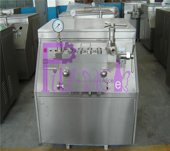 3000L/h 2 stage homogeniser for juice and dairy products