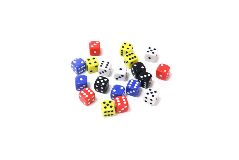 High Quality plastic Dice