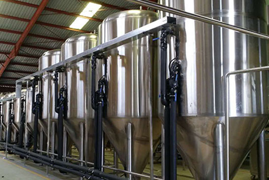 Beer Fermentation Storage Tank