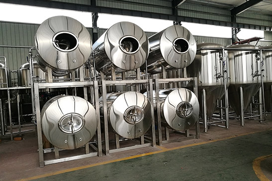 Horizontal Beer Storage Tank