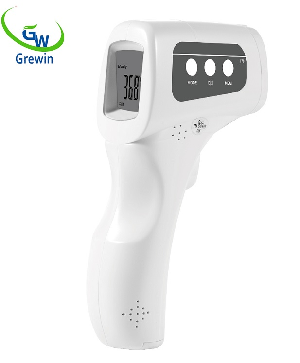 RoHS Ce Approval Thermometer Non Contact Digital Infrared Forehead Body Thermometer