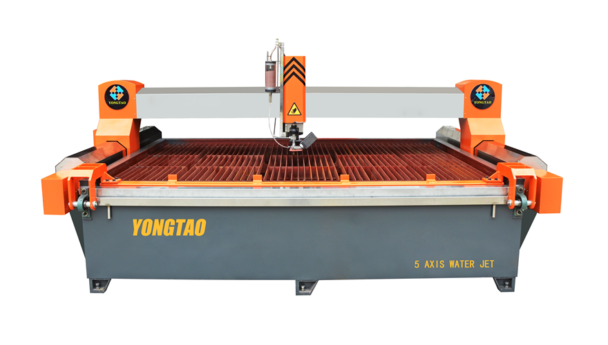YJ-3020-5L 5 Axis CNC Waterjet Granite Cutting Machine