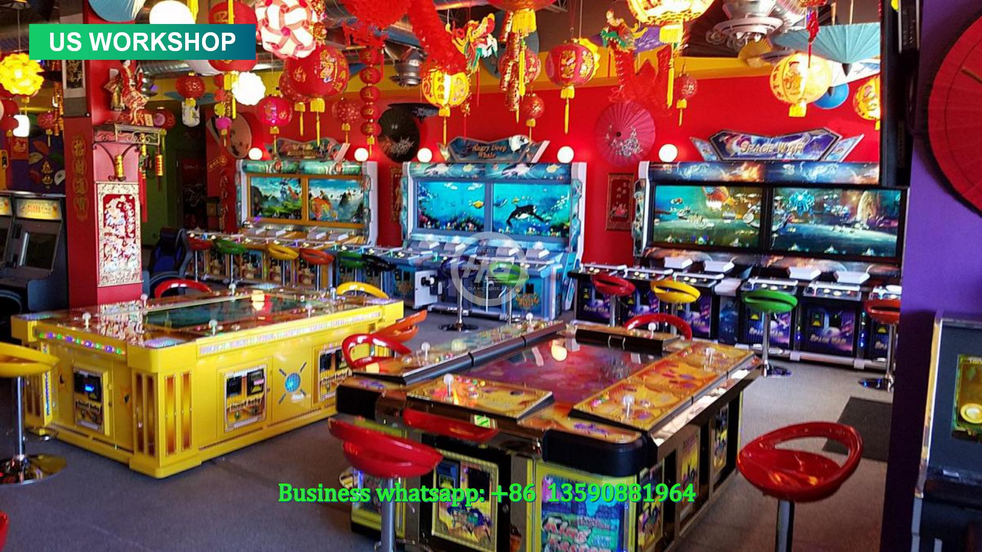 IGS Original Fishing Game,Ocean King 3 Plus,Fish Table Game For Sale,Adult Arcade Game Room,Fish Arcade Game Room
