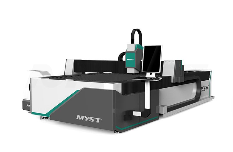 Excellent CNC Fiber Laser Cutting Machine With Rotary MTF3015R  cnc laser cutting machine price   professional laser cutting machine supplier