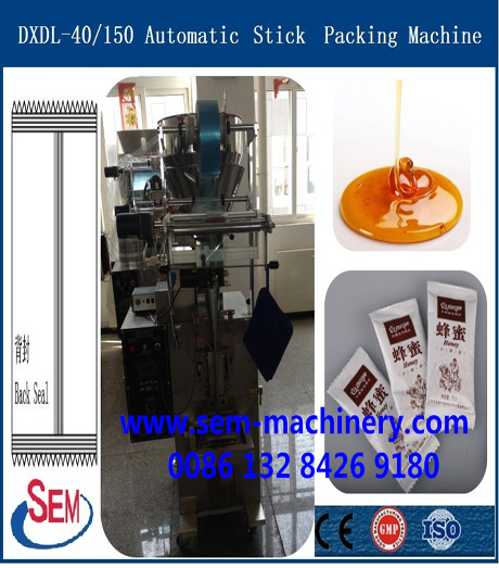 Automatic Ketchup Stick Bag Packing Machine