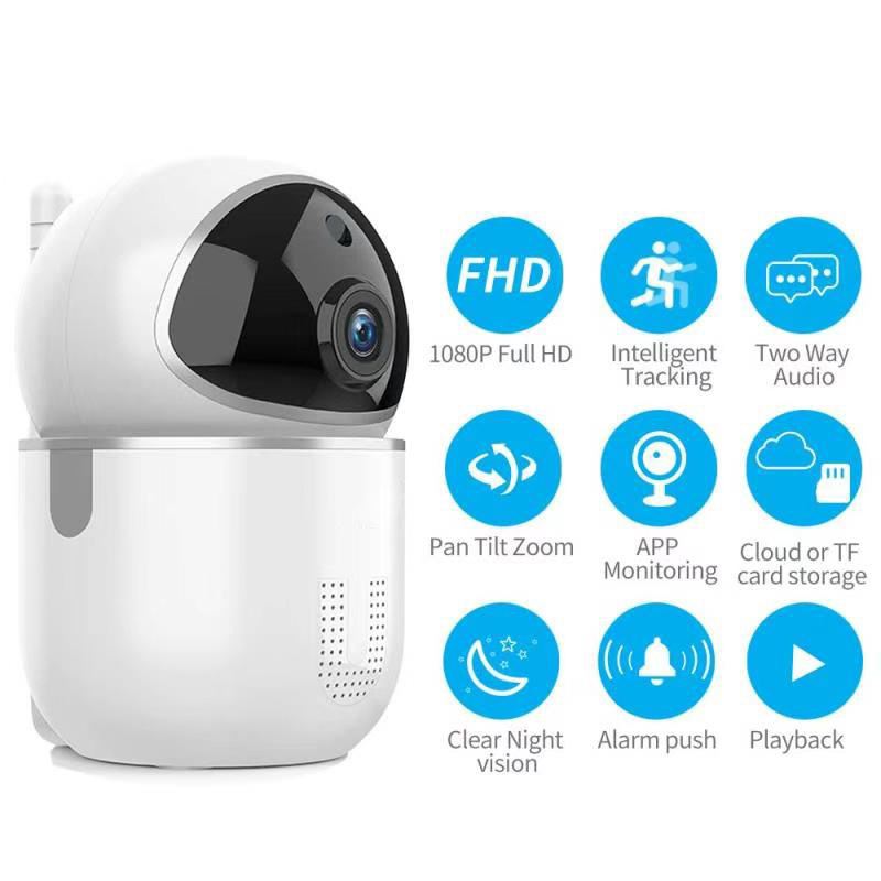Enerna IoTech WiFi Security Smart Home Care IP Camera