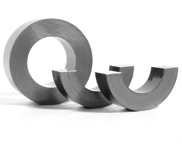 silicon steel winding toroidal cut cores for sensor