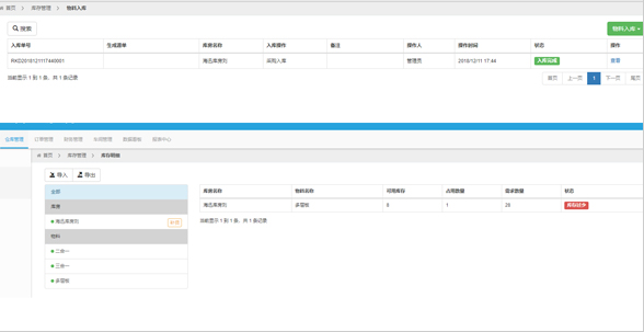 Haixun software Unified inventory management system
