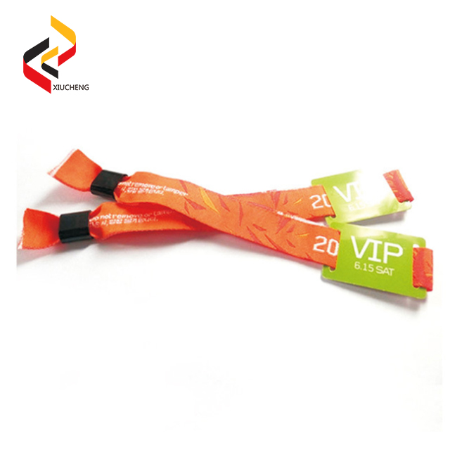 NFC NTAG213 Fabric Polyester Wristbands