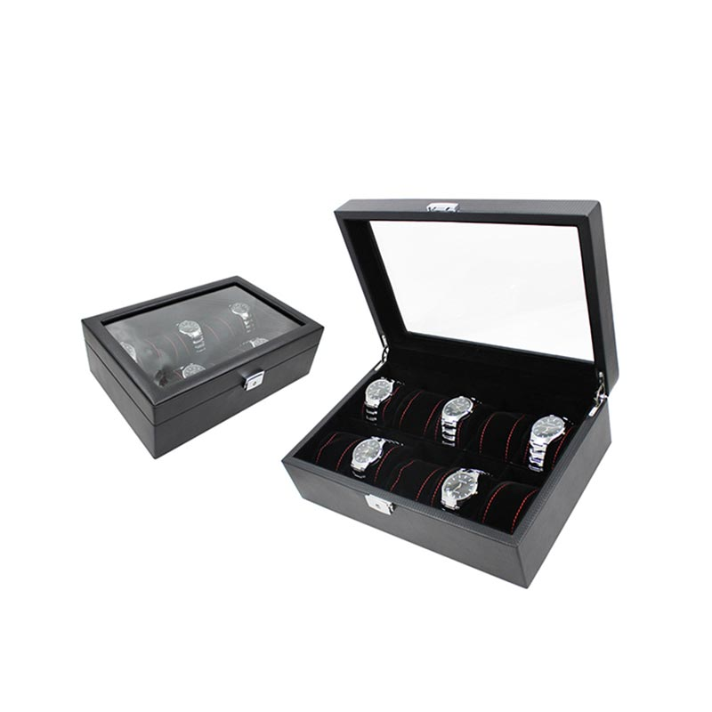 Luxury Piano Watch Case Box Display For 10 Watches Storage  Watch Boxes For Sale  Customized Watch Boxes