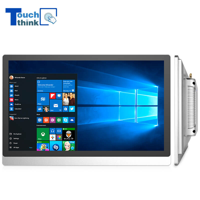 21.5 Inch TFT Fanless Touch Panel Computer with Intel Core