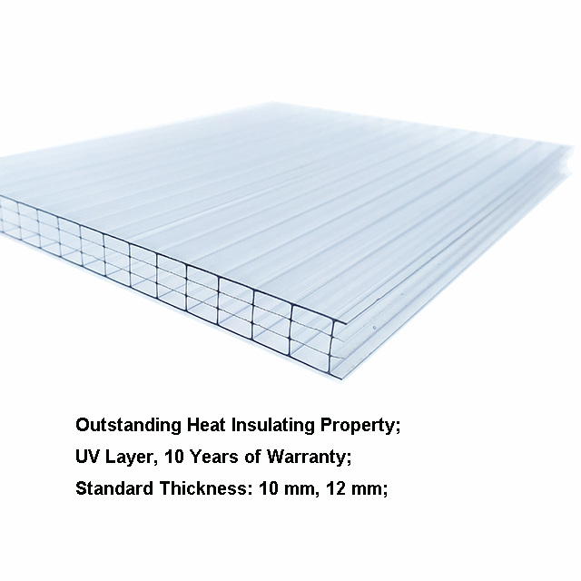 Greenhouse Wall Polycarbonate Sheet
