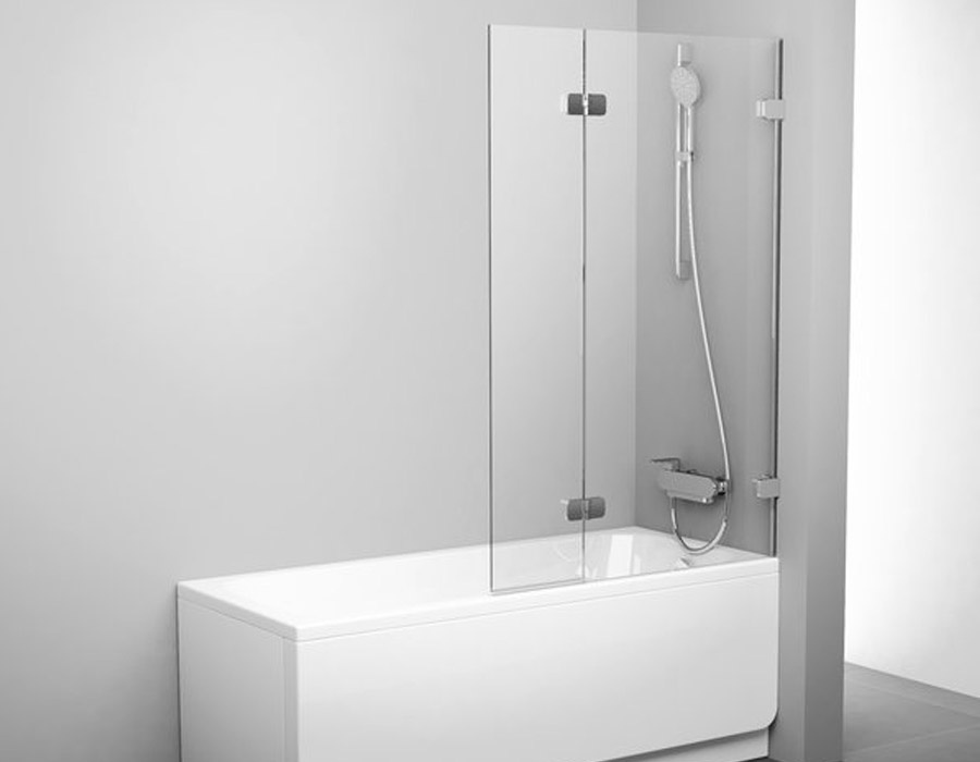 Two Part Bathtub Panel With a Movable Section, AB 5139