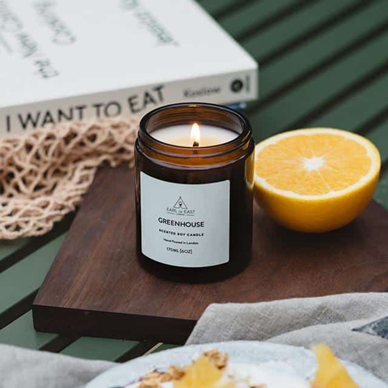 Greenhouse Scented Candles, Luxury Fragrance Candles Wholesale