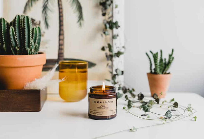 Daydreamer Aromatherapy Candles, Aroma Scented Candles