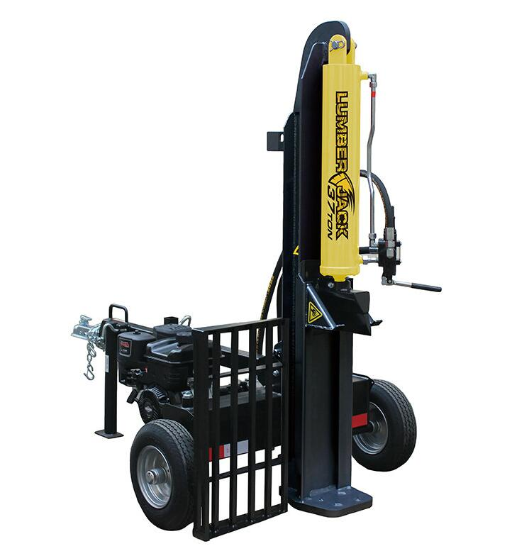LUMBERJACK 22TON GASOLINE LOG SPLITTER-FULL BEAM