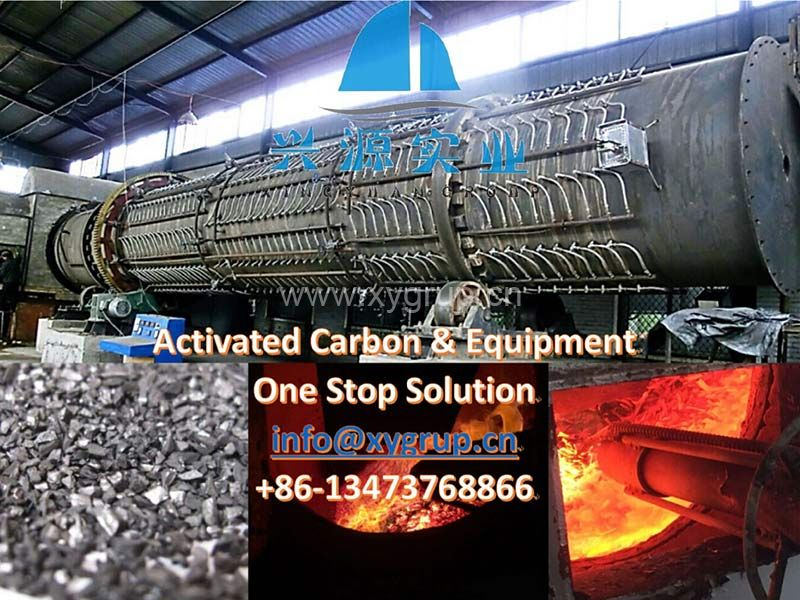 Factory supply Multi Steam Injection Activated Carbon Kiln