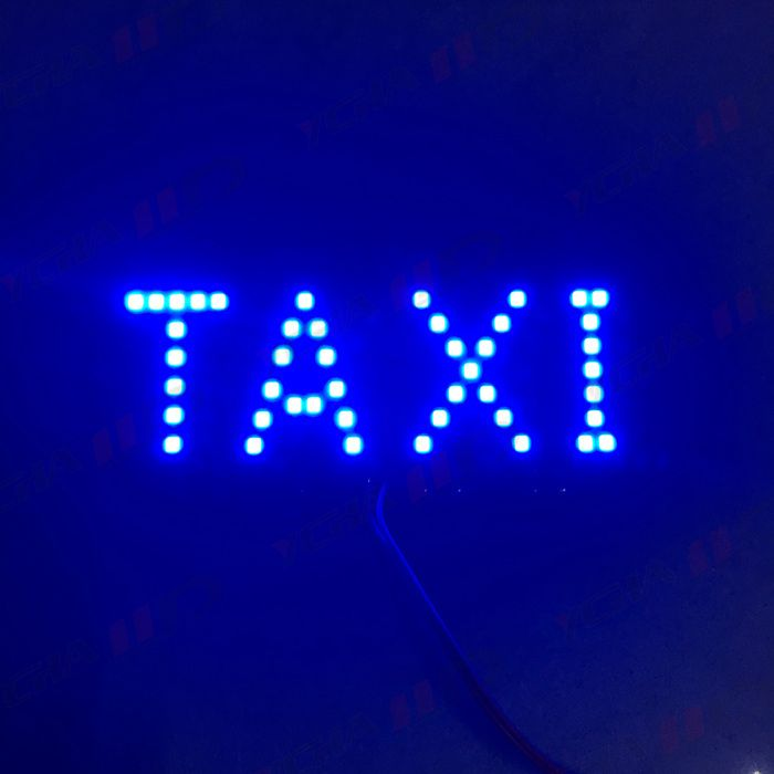 Cab Led Light Cigarette Lighter Chargeable Taxi Lamp