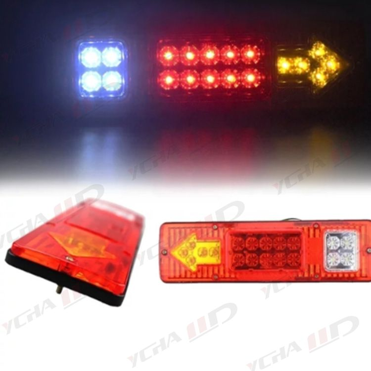 12V 24V highlight cargo trolley truck and LED trailer tail lights