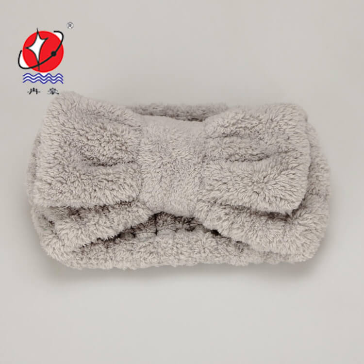 Microfiber Coral Fleece Hair Band