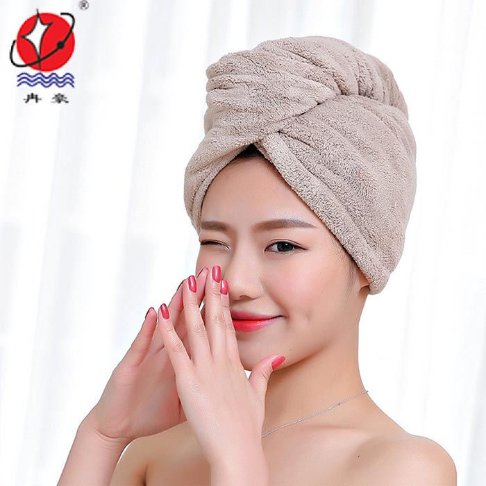 Microfiber Coral Fleece Hair Turban
