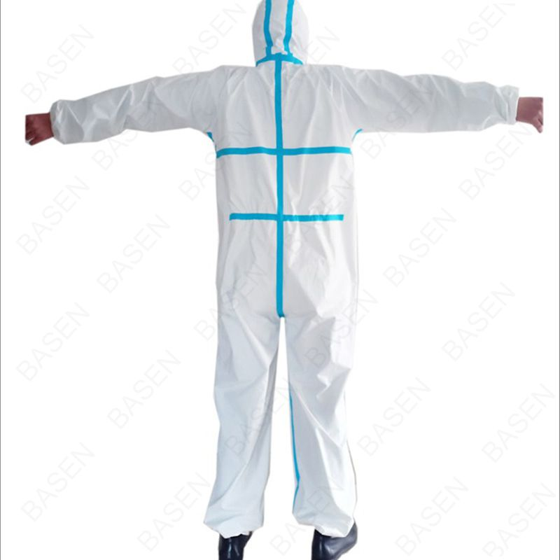 Personal Coverall Suit Disposable Protective Clothing Medical