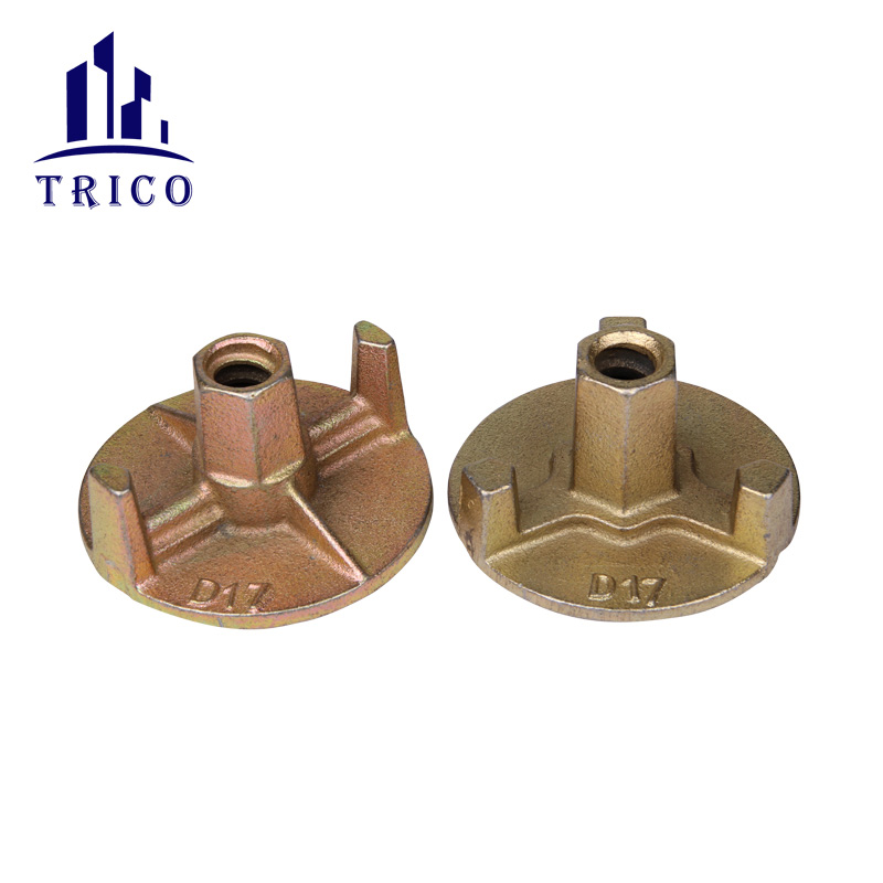 15/17mm Formwork tie rod Casting Wing Nut